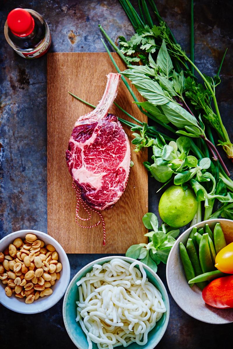 Beef salad deluxe 1